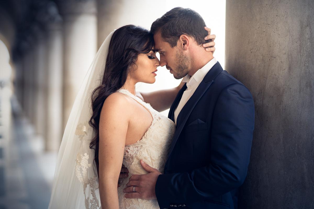 Robe de mariée - Réception de mariage - Venise